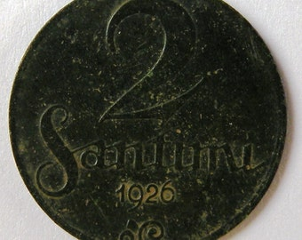 2 santimi of 1926 of Latvia