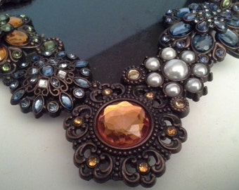 Repeat....different colored stones, bejewelled frame