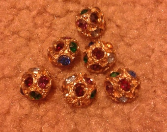 Bejeweled Buttons