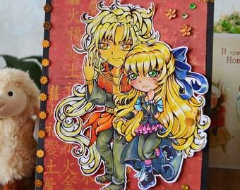 Anime CHIBI Postcard Request