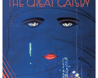 GG02 Vintage The Great Gatsby Poster Print