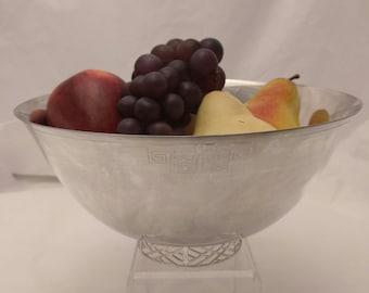Silver Plate bowl With Original Base Design