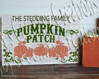Pumpkin Patch Family SVG, PNG, JPEG   Editable