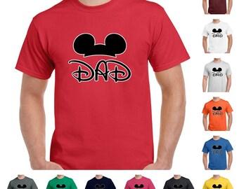 Dad, Mickey Dad Men's Fashion T-Shirt
