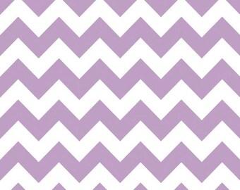 Medium Chevron Lavender cotton fabric by Riley Blake Designs