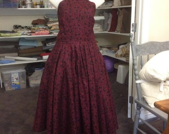 Reproduction 50s Dress, size 18