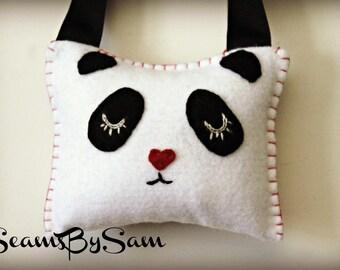 Panda Bear Tooth Pillow