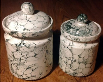 Marbled Canisters