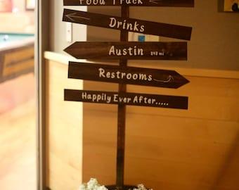Custom Wedding Sign