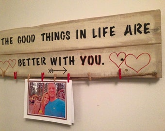 Better With You. Love. Lovers. Valentine gift.