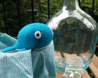Whale Stuffed Toy Bollie by HandmadeBollies
