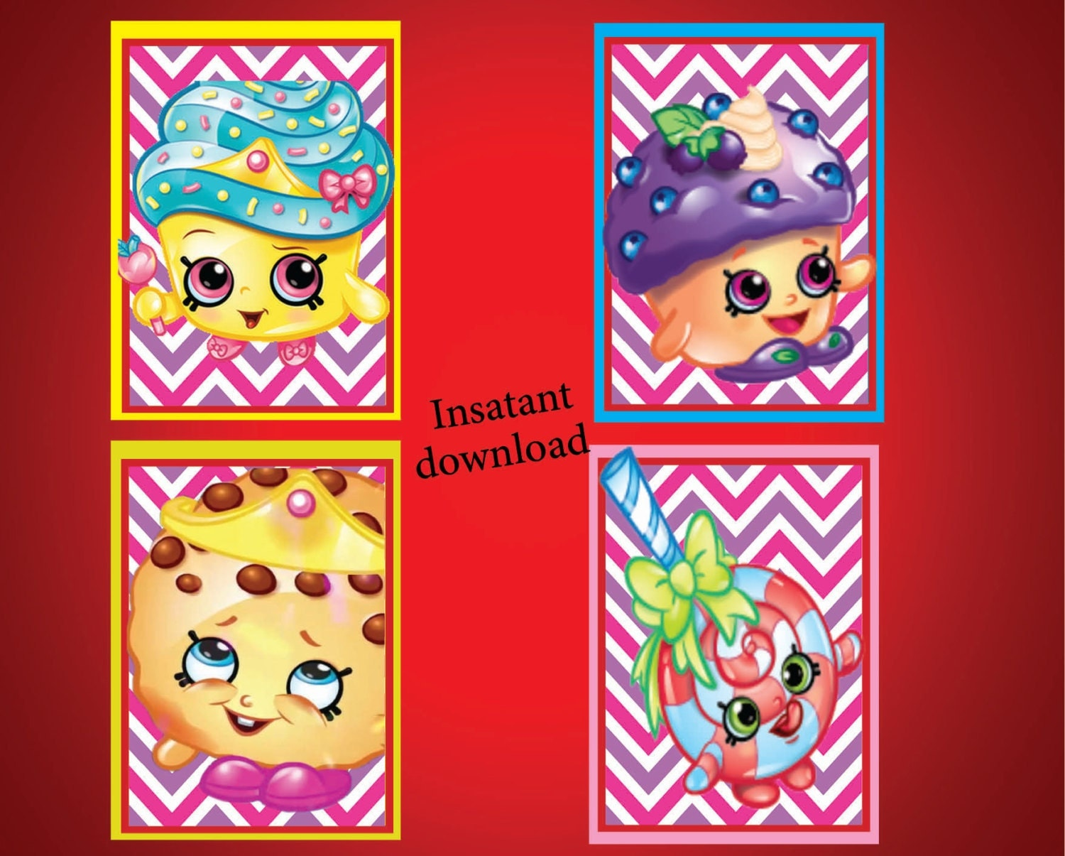 Lucrative image intended for printable shopkins posters