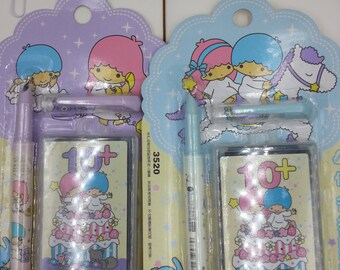 Last Batch Discount USD2 OFF :  Little Twin Stars Fountain Pen plus 10 replacement Ink Catridge