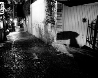 SHADOW IN MOUZAIA_Street photography in Paris