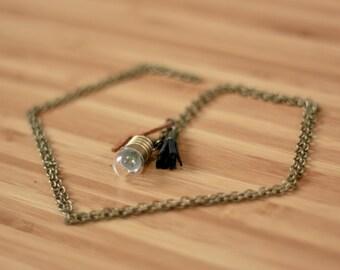 Alight. Bulb necklace. Bulb necklace
