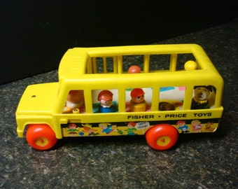 Fisher Price School Bus - No. 192 - USA
