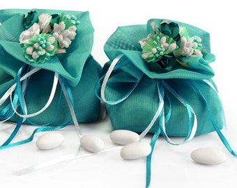 5pieces Wedding favor bags,satin favor bags, wedding candy bags,personalized wedding favor bags,wedding Gift bags,favor bags wedding