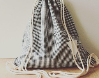 Sack Backpack 100% Cotton ECO