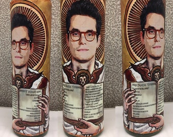 Saint John Mayer Prayer Candle (Pick Your John Mayer!)