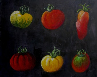 the Heirloom tomatoes