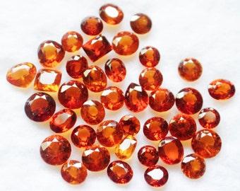 Natural Hessonite Garnet lot