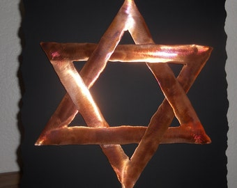 Copper Star of David