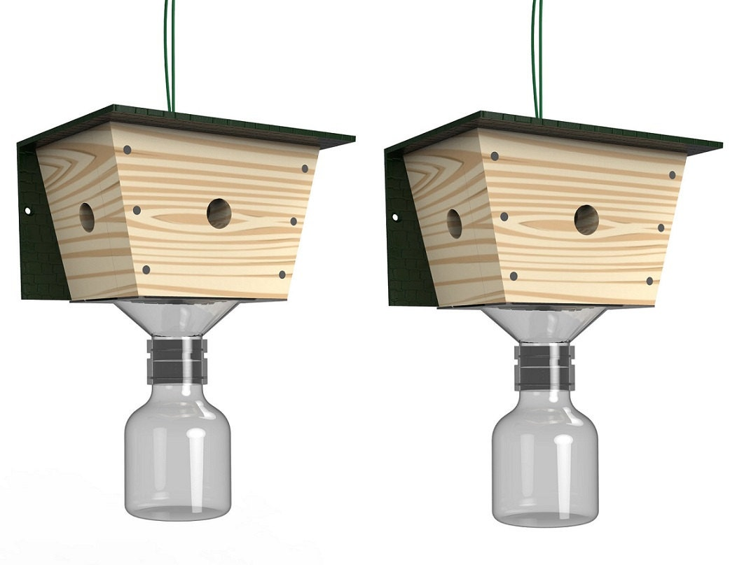 Best Bee Trap Carpenter Bee Trap 2 Pack