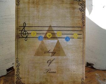 Legend of Zelda Song Plaque (Ocarina of Time/Majora's Mask)