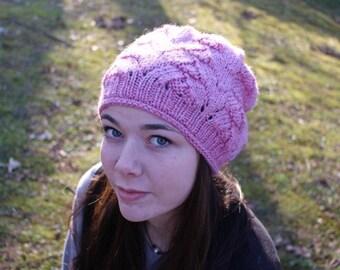 Handmade hat,100% Superwash Wool.