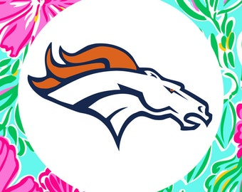 Denver Broncos Multi-Pack Cutting Files in Svg, Eps, Dxf, Png and Jpeg for Cricut & Silhouette | NFL Football Graphics | Super Bowl Decals