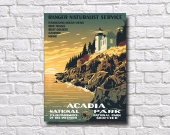 Acadia National Park Poster - #0438