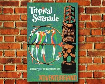 Disney Tropical Serenade Poster - #0616