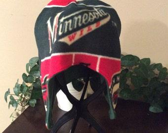 Adult Minnesota Wild ear warmer hat