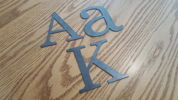 4 metal letters numbers and signs 4 inch tall With 4 inch sign letters and numbers