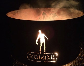 Zombie Fire ring