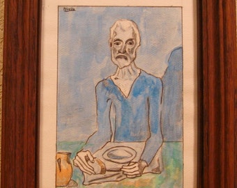 The Ascetic after Picasso