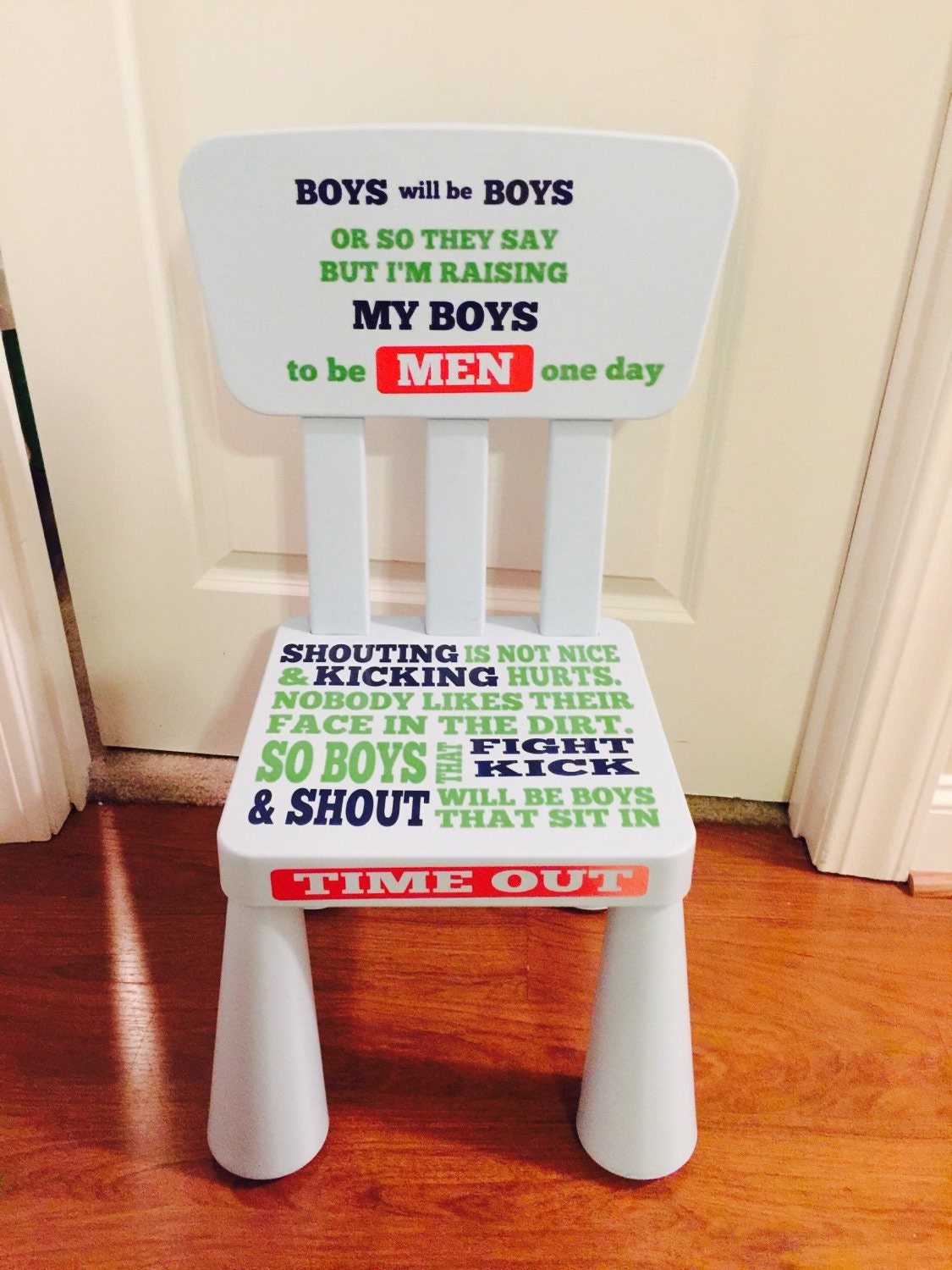 Time Out Chair With Timer time out chair boy girl boys will be boys chair