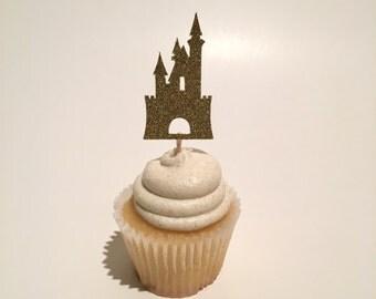 Castle Cupcake Topper