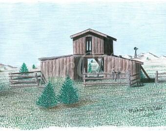 Cowboy Barn