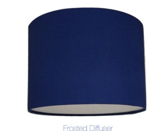 Blue Lightshade With Diffuser  / Various Sizes / 40cm / 45cm / 50cm