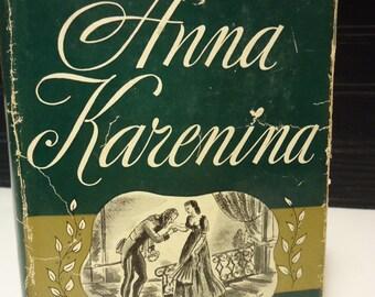 vintage book Anna Karenina tolstoy modern library classic