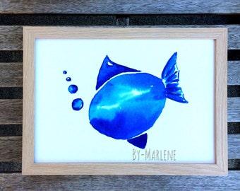 Print • fish •
