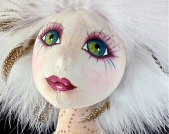 TP401E - Lilly, A Fantasy Rabbit PDF Cloth Doll Pattern
