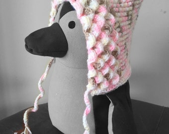 Crocodile Stitch Crochet Pixie Hat