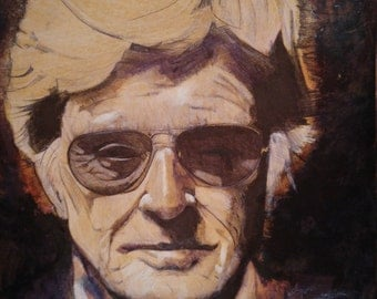 Robert Redford in Coffee Stain
