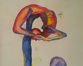 Watercolor: Body agreement 1