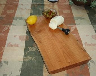 Live edge Cherry cutting board