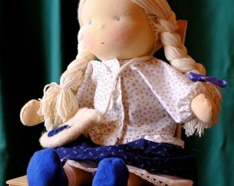Classic Girl Waldorf Doll