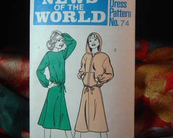 Sewing Pattern News of the World no 74 Women Vintage Sizes 10 - 16