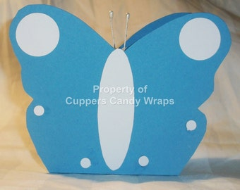 Butterfly Treat or Gift Box ~ Gift Bag , Paper Bag, butterflies, Treat Box, Candy, Jewelry Gift Bag, Party Favor